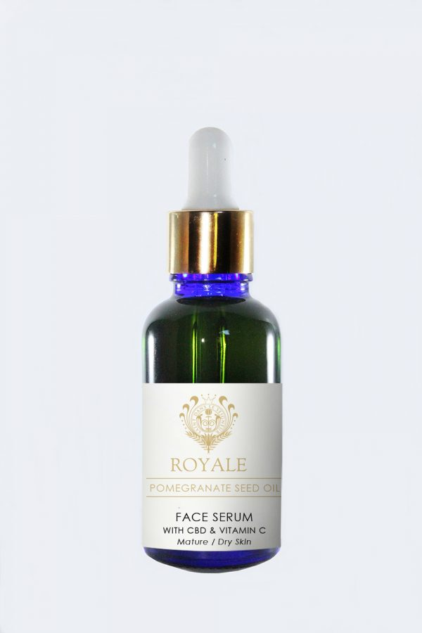 Face Serum with CBD & vitamin C