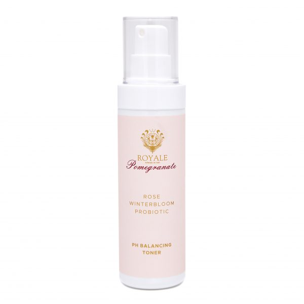 Pomegranate Rose and Winterbloom Probiotic PH Balancing Face Toner Online - Natural Beauty Products - Cape Town - Royale Afrique De Sud