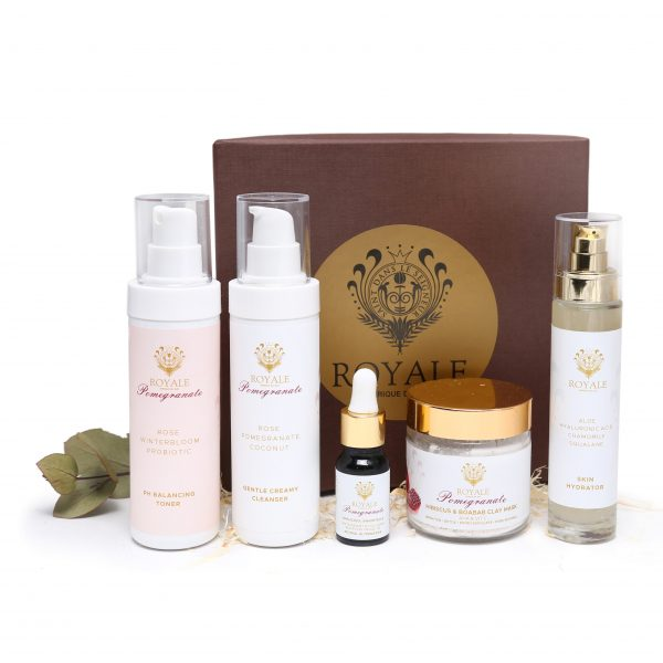 Skin Care Regime Gift Set Online - Natural Beauty Products - Cape Town - Royale Afrique De Sud3